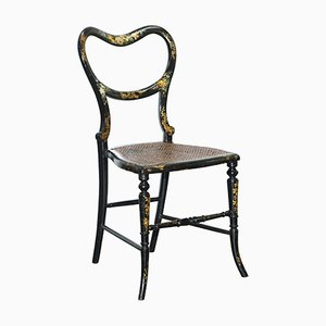 18th Century Georgian Hand Painted Chinoiserie Side Chair