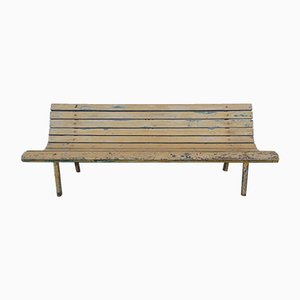 Mid-Century Railway Station Bench