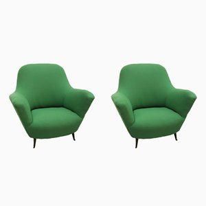 Vintage Armchairs from Isa Bergamo, Set of 2