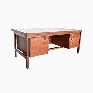 Executive Desk by Arne Vodder for HP Hansen, 1960s