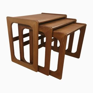 Set of Danish Teak Nesting Tables, 1960s