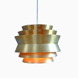 Vintage Trava Pendant Lamp by Carl Thore for Granhaga Metallindustri AB