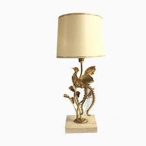 Lámpara de mesa vintage de L. Galeotti, años 70