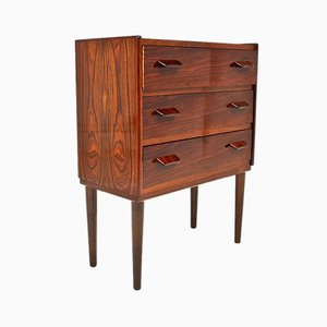 Vintage Danish Rosewood Chest of Drawers by Carl Aage Stov for for Munch's Mobelfabrik, 1950s