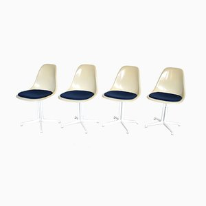 Chaises de Salon La Fonda par Charles & Ray Eames pour Herman Miller, 1960s, Set de 4