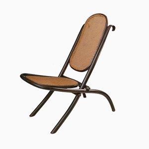 Chaise de Cheminée Pliable No. 1 Antique de Thonet, 1870s