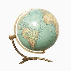 Globe en Verre par Paul Oestergaard pour Columbus Verlag DUO Erdglobus, 1976