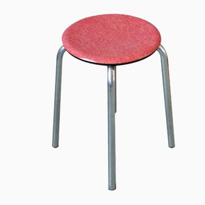 Vintage Red Stool from JAS