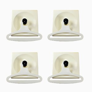 Plastic Coat Hooks from Schönbuch, 1960s, Set of 4