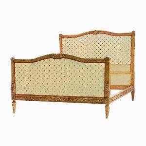 Antikes französisches Bett, 1850er