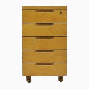 Lackierter Schreibtischschrank aus Birke von Alvar Aalto für Artek, 1950er
