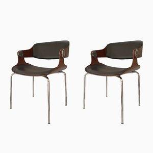 Vintage Sessel von Eugen Schmidt, 1960er, 2er Set