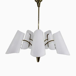 Lámpara de araña Mid-Century de Rupert Nikoll