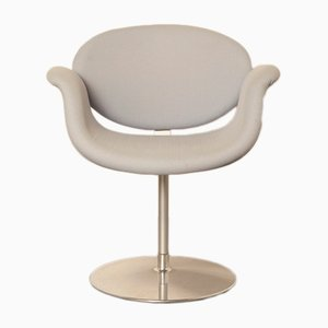 Grey/Pale Ice Blue Little Tulip chair by Pierre Paulin for Artifort, 2000s