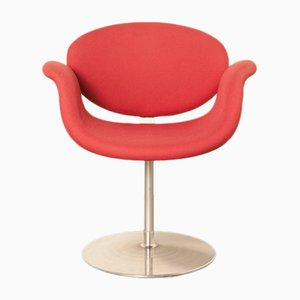 Roter kleiner Tulip Sessel von Pierre Paulin für Artifort, 2000er