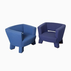 Seven Armchairs by Björn Mulder for Palau, 2000s, Set of 2