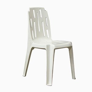 White Garden Chair by Pierre Paulin, 1970s