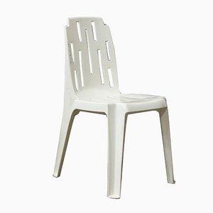 White Garden Chair by Pierre Paulin, 1970s