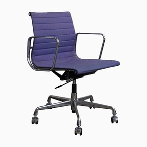 Purple Adjustable Office Chair by Ray and Charles Eames for Vitra, 1950s