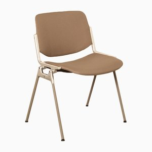 DSC Brown-Grey Chair by Giancarlo Piretti for Castelli, 1990s