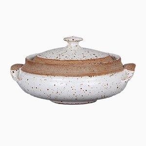 Cuenco danés de cerámica, años 60