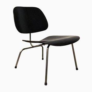 Schwarzer LCM Stuhl von Charles & Ray Eames für Herman Miller, 1946