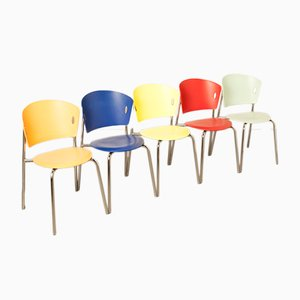 Gio Chairs from Bontempi Casa, 2000s, Set of 5