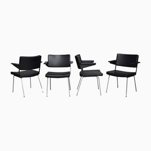 Model 1265 Chairs by André Cordemyer for Gispen, 1960s, Set of 4