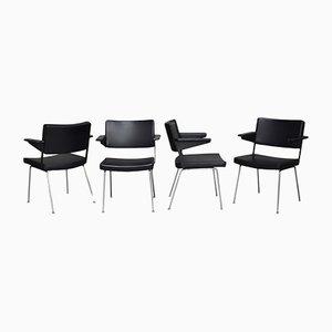 Modell 1265 Stühle von André Cordemyer für Gispen, 1960er, 4er Set