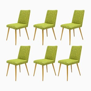 Chaises d'Appoint Vintage de Slupsk Fabryka Mebli, 1980s, Set de 6