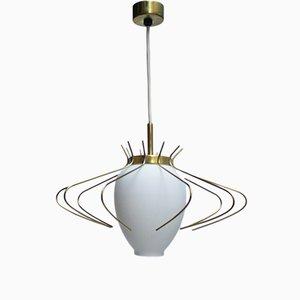 Lámpara colgante Spider francesa vintage