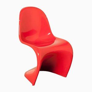 Chaise Panton Rouge par Verner Panton pour Vitra, 2006