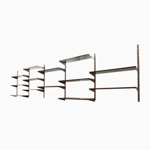 Scandinavian Shelving Unit by Kai Kristiansen for FM Møbler, 1960s