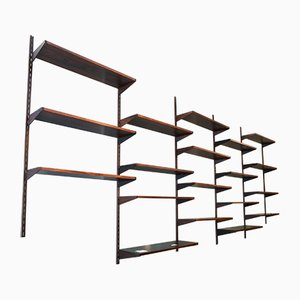 Rosewood Shelving Unit by Kai Kristiansen for FM Møbler, 1960s