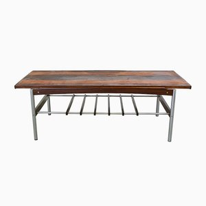 Rosewood Coffee Table with Reversible Top from TopForm, 1960s