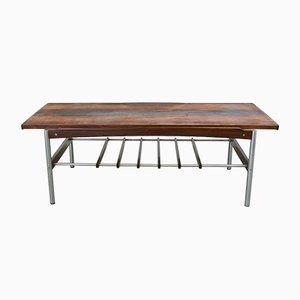 Table Basse en Palissandre avec Plateau Réversible de TopForm, 1960s