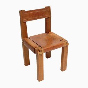 Französischer Vintage S11 Stuhl von Pierre Chapo
