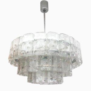 Deutsche Deckenlampe von Doria Leuchten, 1970er