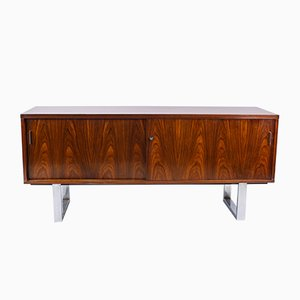 Rosewood & Chrome Sideboard by Trevor Chinn for Gordon Russell, 1970s