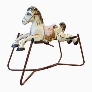 Britisches Mid-Century Spielzeugpferd von Mobo Toys für D. Sebel & Co. Ltd., 1950er