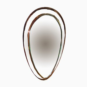 Specchio Mid-Century di Cristal Art
