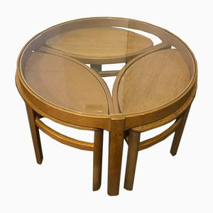 Teak Nesting Tables from Nathan, 1970s