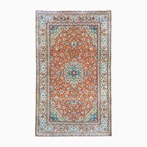 Vintage Nain Teppich aus Wolle & Seide