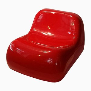 Chaise d'Appoint Vintage par Alberto Rosselli de Saporiti Italia, 1960s