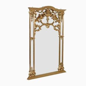 Specchio grande veneziano rococò di Testolini e Salviati, inizio XX secolo