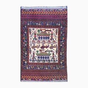 Vintage Afghan Belouch Rug