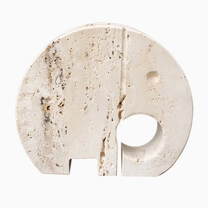 Travertine Elephant Envelope Holder from Fratelli Mannelli, 1970s