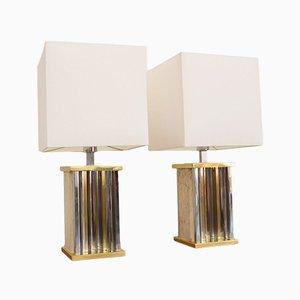 Lámparas de mesa vintage de Sciolari. Juego de 2