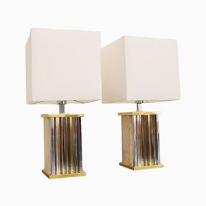 Vintage Table Lamps from Sciolari, Set of 2