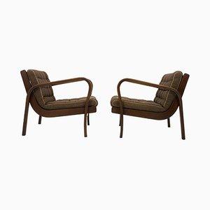 Vintage Sessel von Karel Kozelka & Antonin Kropacek, 1940er, 2er Set